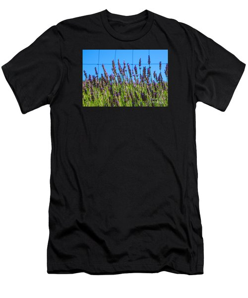 Country Lavender Vii Men's T-Shirt (Athletic Fit)
