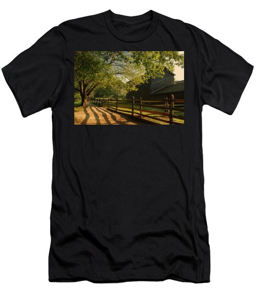 Country Morning - Holmdel Park Men's T-Shirt (Athletic Fit)