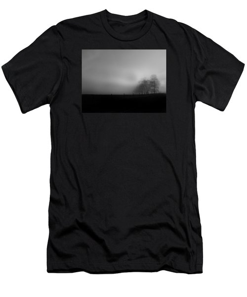 Men's T-Shirt (Slim Fit) featuring the photograph Country Morning Vision Georgia Usa by Sally Ross