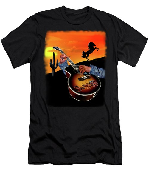Country Music Men's T-Shirt (Athletic Fit)