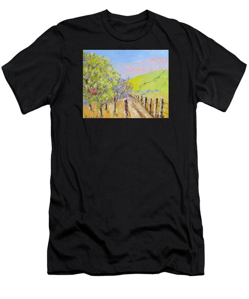 Country Road Pallet Knife Men's T-Shirt (Athletic Fit)