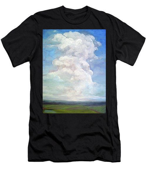 Country Sky - Painting Men's T-Shirt (Athletic Fit)