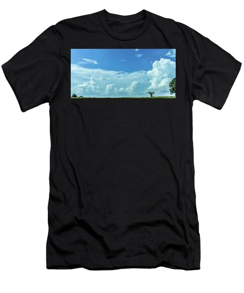 Men's T-Shirt (Athletic Fit) featuring the photograph Countryside by Andrea Anderegg