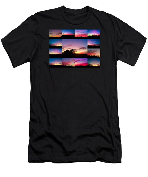 Countryside Beauty Men's T-Shirt (Slim Fit) by Carlee Ojeda