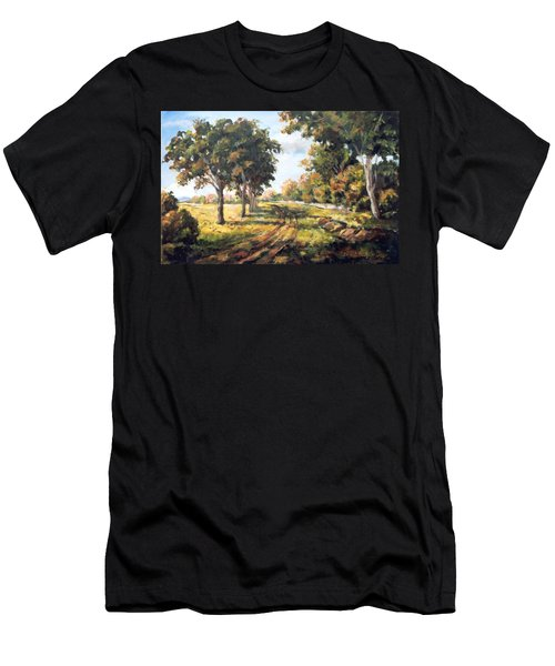 Countryside Men's T-Shirt (Slim Fit) by Alexandra Maria Ethlyn Cheshire