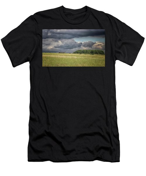 Countryside Storms Men's T-Shirt (Athletic Fit)