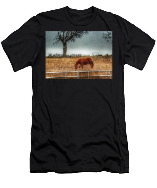 County Road 4100 Men's T-Shirt (Athletic Fit)