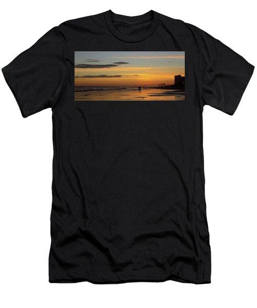 Couple Men's T-Shirt (Athletic Fit)
