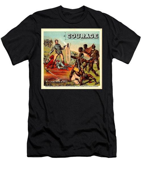 Courage? Men's T-Shirt (Athletic Fit)