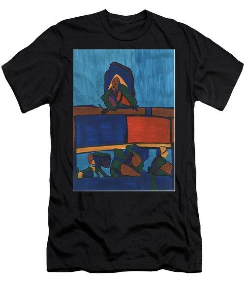 Courtroom  Men's T-Shirt (Athletic Fit)