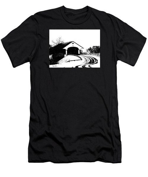 Covered Bridge Men's T-Shirt (Athletic Fit)