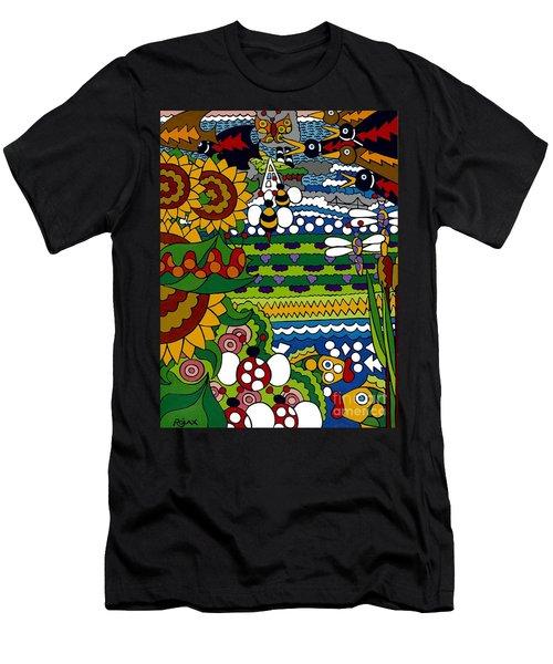 Cowbirds Men's T-Shirt (Athletic Fit)