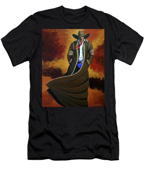 Cowboy Dust Men's T-Shirt (Athletic Fit)