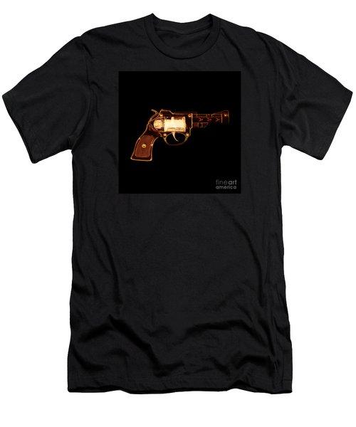 Cowboy Gun 002 Men's T-Shirt (Athletic Fit)