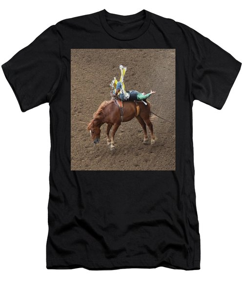 Cowboy Up Men's T-Shirt (Athletic Fit)