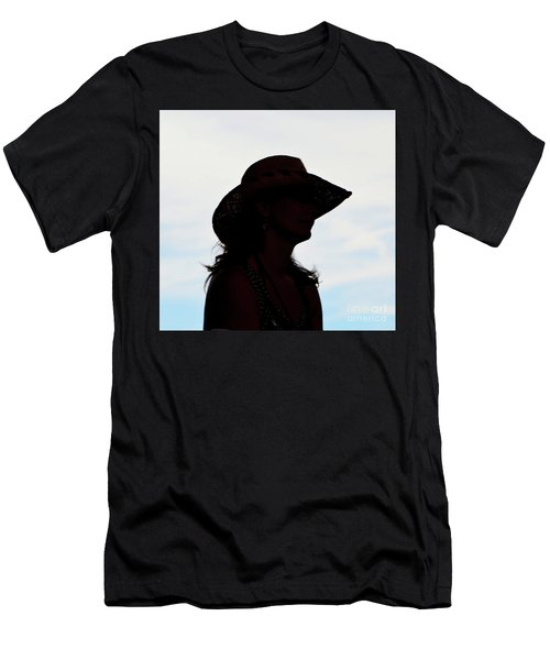 Cowgirl In The Sky Men's T-Shirt (Athletic Fit)