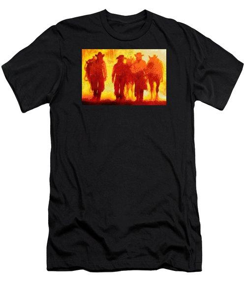 Cowpeople Men's T-Shirt (Athletic Fit)