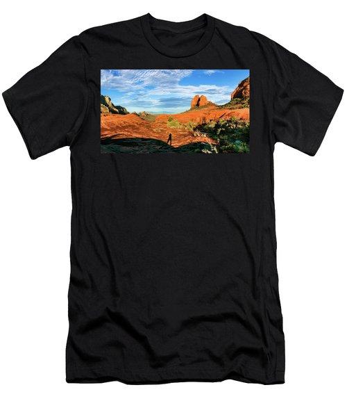 Cowpie 07-094p Men's T-Shirt (Slim Fit) by Scott McAllister