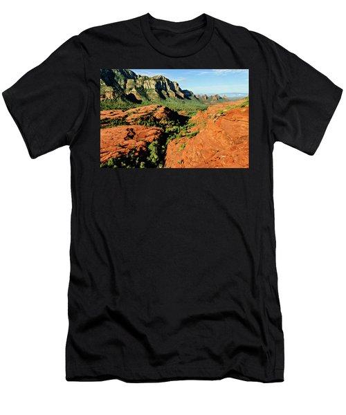 Cowpie 07-114 Men's T-Shirt (Slim Fit) by Scott McAllister