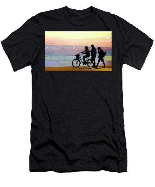 Cox Bay Bike Men's T-Shirt (Athletic Fit)