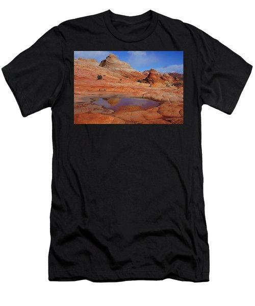 Coyote Butte Reflection Men's T-Shirt (Athletic Fit)