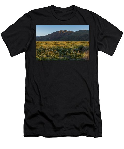 Coyote Mountain And Henderson Canyon Road Men's T-Shirt (Athletic Fit)