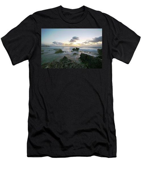Cozumel Sunrise Men's T-Shirt (Athletic Fit)