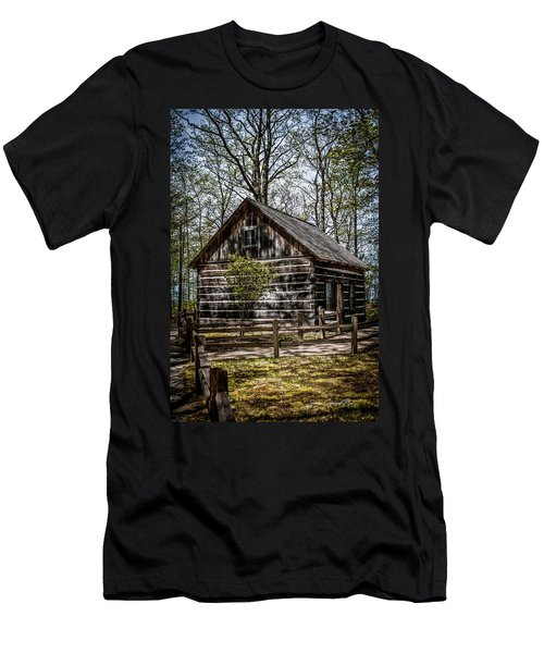 Cozy Cabin Men's T-Shirt (Athletic Fit)