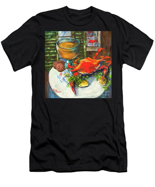 Crab And Crackers Men's T-Shirt (Athletic Fit)
