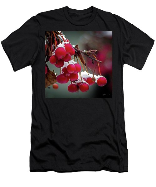 Crab Apples Snow Men's T-Shirt (Athletic Fit)