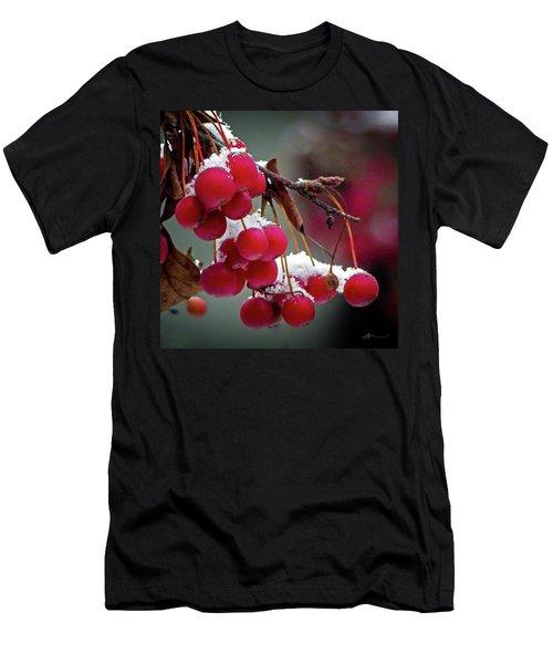 Crab Apples Snow Men's T-Shirt (Athletic Fit)