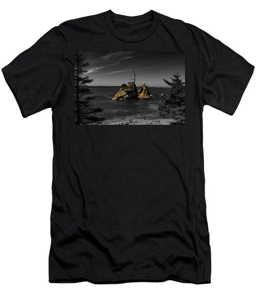 Crab Rock Men's T-Shirt (Athletic Fit)