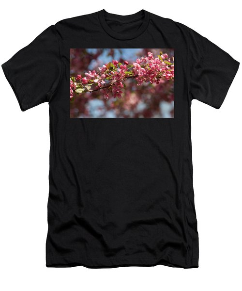 Crabapple In Spring Section 2 Of 4 Men's T-Shirt (Athletic Fit)