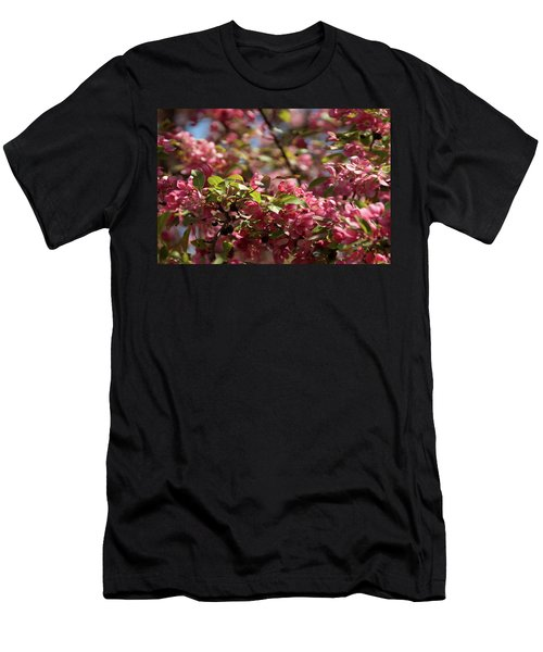 Crabapple In Spring Section 4 Of 4 Men's T-Shirt (Athletic Fit)