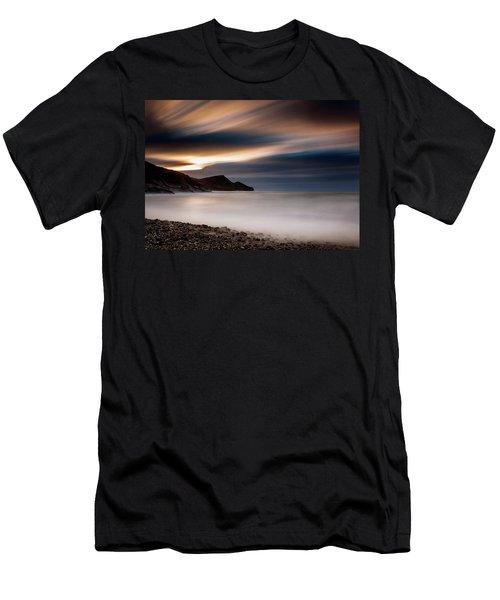 Crackington Haven Sunset Men's T-Shirt (Athletic Fit)
