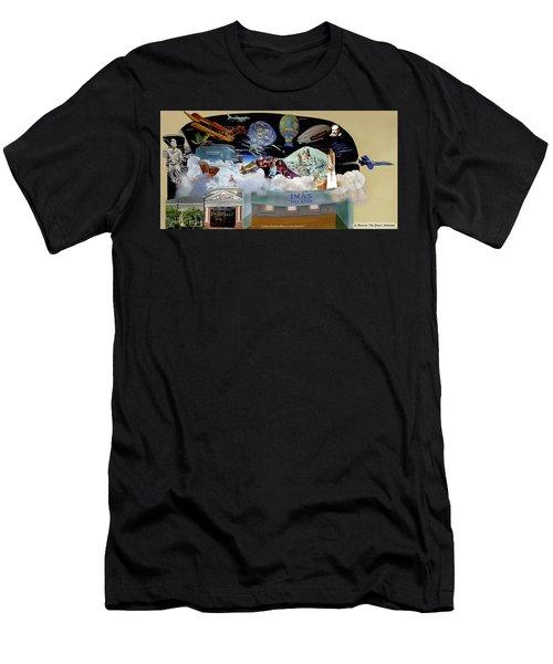 Cradle Of Aviation Museum Men's T-Shirt (Athletic Fit)
