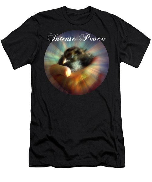 Cradlebye - Intense Peace Men's T-Shirt (Athletic Fit)
