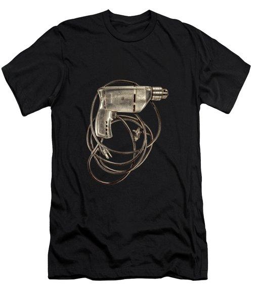 Craftsman Drill Motor Back Side Men's T-Shirt (Athletic Fit)