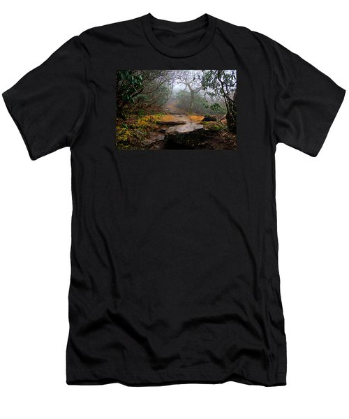 Men's T-Shirt (Slim Fit) featuring the photograph Craggy Gardens by Jessica Brawley