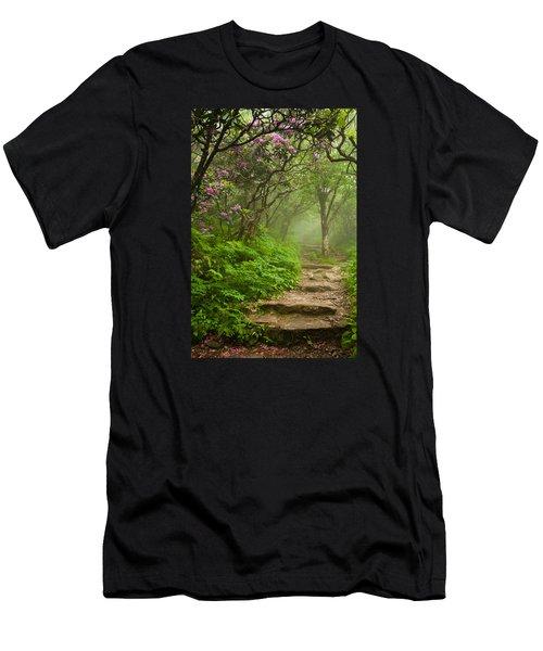 Craggy Steps Men's T-Shirt (Athletic Fit)