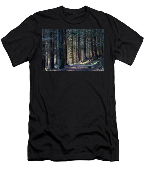 Craig Dunain - Forest In Winter Light Men's T-Shirt (Athletic Fit)