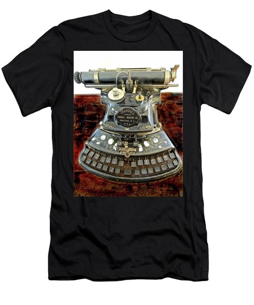 Crandall Type Writer 1893 Men's T-Shirt (Athletic Fit)