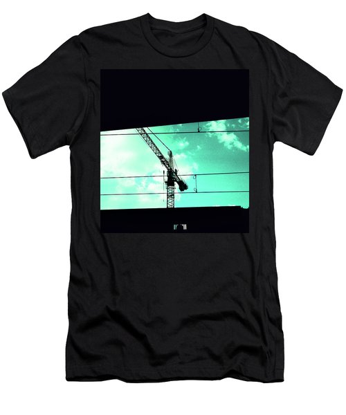 Crane And Shadows Men's T-Shirt (Athletic Fit)