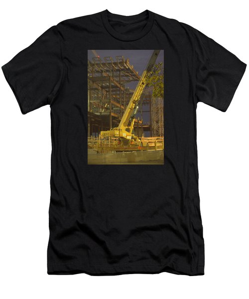 Craning And Working Men's T-Shirt (Athletic Fit)