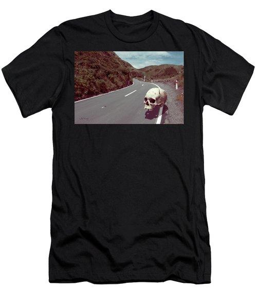 Men's T-Shirt (Athletic Fit) featuring the photograph Cranium Volito by Joseph Westrupp