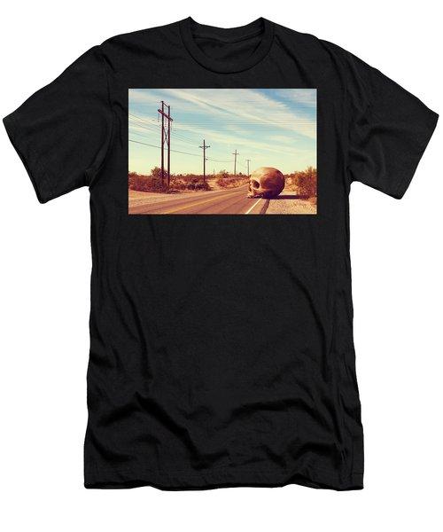 Men's T-Shirt (Athletic Fit) featuring the digital art Cranius Arizonus by Joseph Westrupp