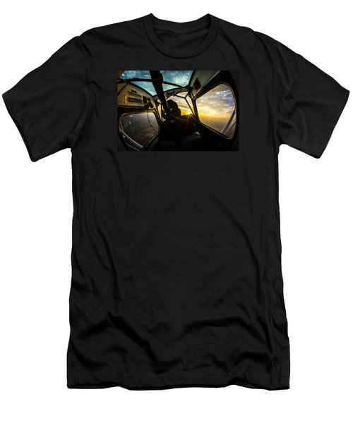 Crankin' And Bankin' Men's T-Shirt (Athletic Fit)