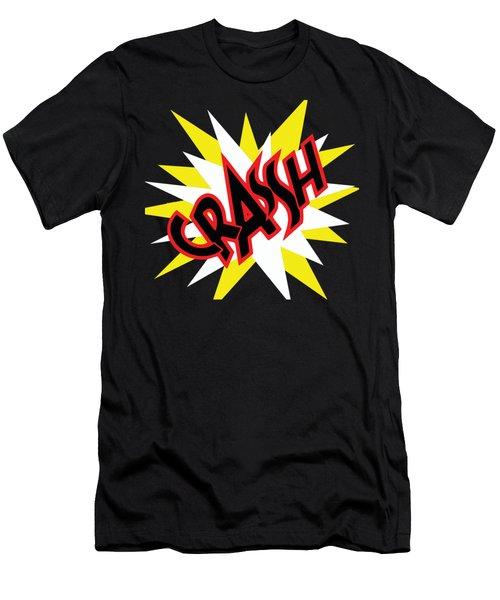 Crash T-shirt And Print By Kaye Menner Men's T-Shirt (Athletic Fit)