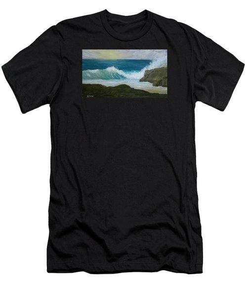 Crashing Wave 3 Men's T-Shirt (Athletic Fit)