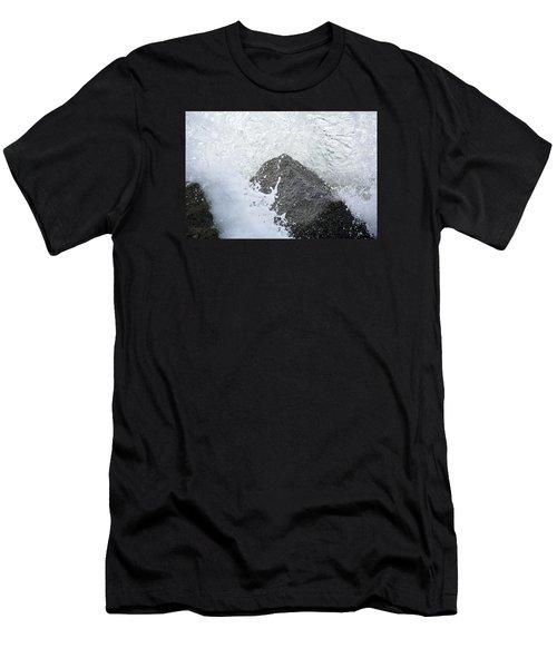 Crashing Wave Men's T-Shirt (Athletic Fit)